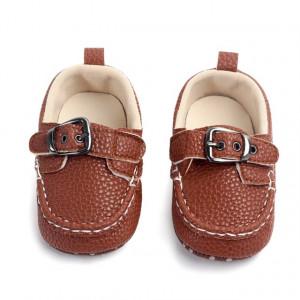 Pantofiori eleganti maro cu catarama