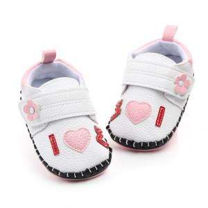Pantofiori fetite albi - Love