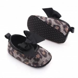 Pantofiori fetite cu strasuri - Leopard
