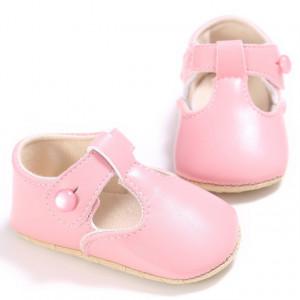 Pantofiori roz cu nasturel