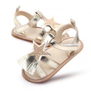 Sandale aurii - Steluta cu franjuri