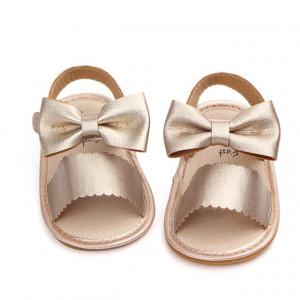 Sandale fetite - Fundita aurie