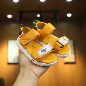 Sandale galben mustar pentru baietei