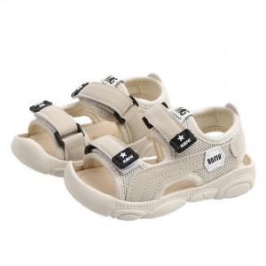 Sandale ivoire pentru baietei