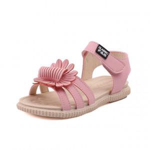 Sandale roz - Margareta dantelata
