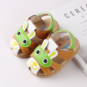 Sandalute pentru baietei - Green dog