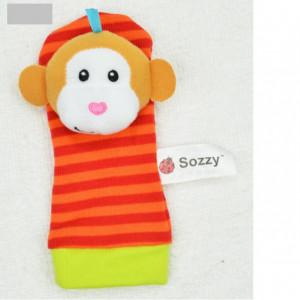 Soseta interactiva pentru bebelusi - Maimutica