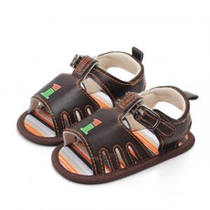 Sandale baietei maro - One