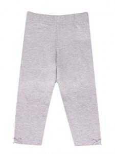 Pantaloni tip colant pentru fetite - Gri