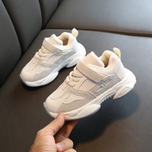 Adidasi gri cu alb