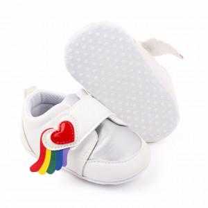 Adidasi pentru fetite - Inimioara curcubeu