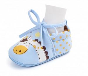 Botosei bebelusi bleu - Girafa vesela