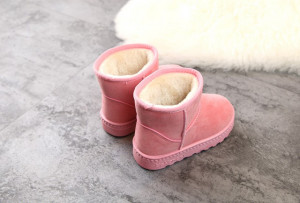 Cizme roz pentru fetite - Blanita