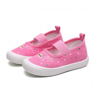 Espadrile roz pentru fetite - Papusica