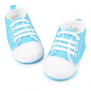 Ghetute sport imblanite bleu turquoise - Love
