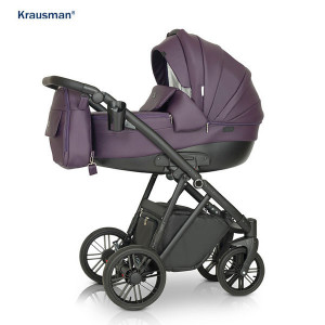 Krausman - Carucior 3 in 1 LEXXO Purple