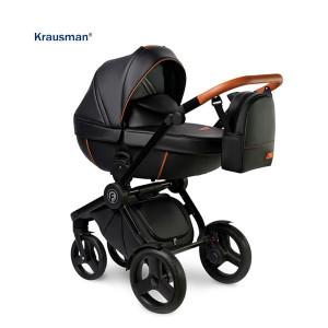 Krausman - Carucior 3 in 1 Topaz Lux Black