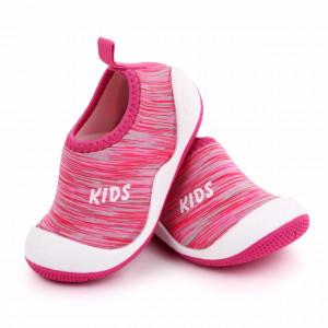 Mocasini in degrade roz pentru fetite