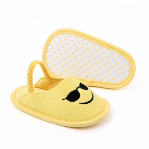 Pantofiori decupati pentru fetite - Emoticon