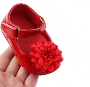 Pantofiori din lac - Margareta rosie