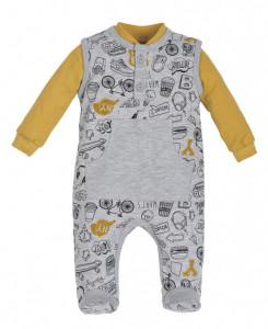 Salopeta cu bluzita pentru bebelusi - Colectia Route 66