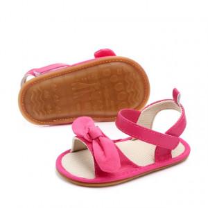 Sandale fetite roz ciclamen