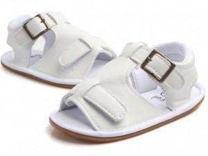 Sandalute baietei albe