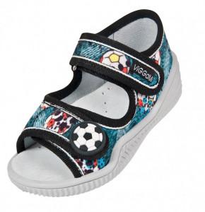 Sandalute pentru baietei - Mingiuta