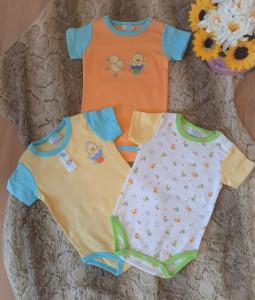 Set de 3 body pentru bebelusi - Ratuste