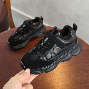Adidasi negri pentru copii