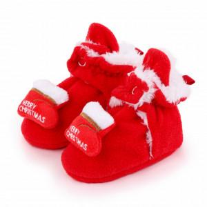 Botosei rosii plusati - Merry Christmas