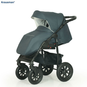 Carucior 3 in 1 model Jet Dark Grey