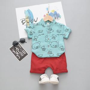 Costum bebelusi cu pantalonasi si camasuta - Baby Bear