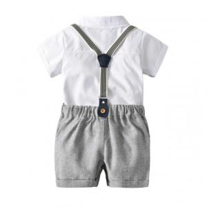 Costum bebelusi cu pantaloni scurti