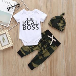 Costumas pentru baietei - The real boss