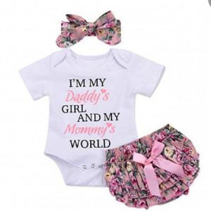 Costumas pentru fetite - Daddy's and mommy's