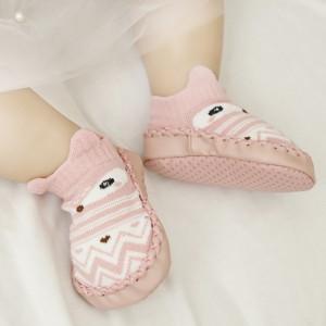 Mocasini copii - Vulpita roz