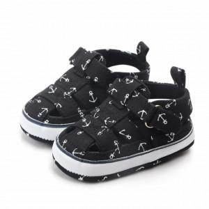 Pantofiori decupati negri - Ancore
