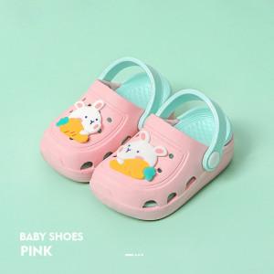 Papuci din cauciuc pentru fetite - Iepuras
