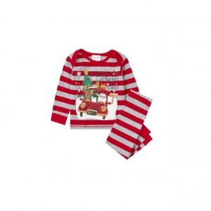 Pijama bebelusi - Santa's comming to town