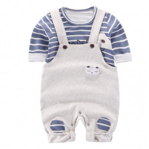 Salopeta cu bluzita pentru bebelusi