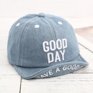 Sapca denim cu cozoroc moale - Good day