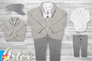 Set 4 piese cu pulover Fancy Grey
