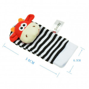 Sosetele interactive pentru bebelusi - Animalute