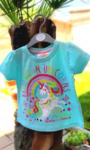 Tricou fetite - Believe in unicorns