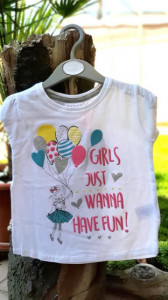 Tricou fetite - Girls wanna have fun