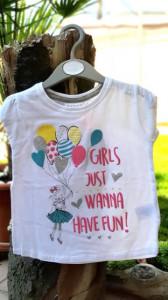 Tricou fetite - Girls wanna have fun
