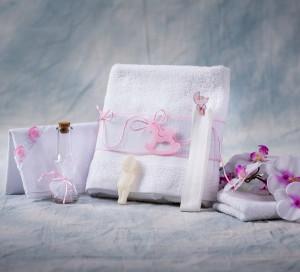 Trusou botez calut roz NK021