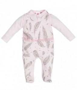 Salopeta pentru bebelusi cu bluzita - Colectia Angel