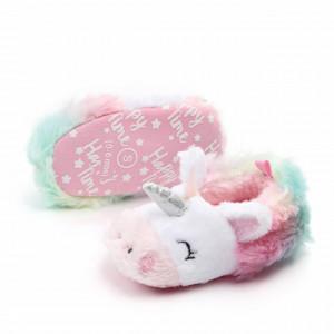 Botosei din blanita multicolori - Unicorn